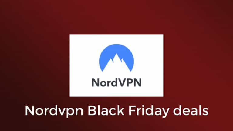 NordVPN Black Friday Deals